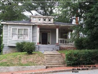 1025 oak street sw atlanta ga 30310 foreclosed home