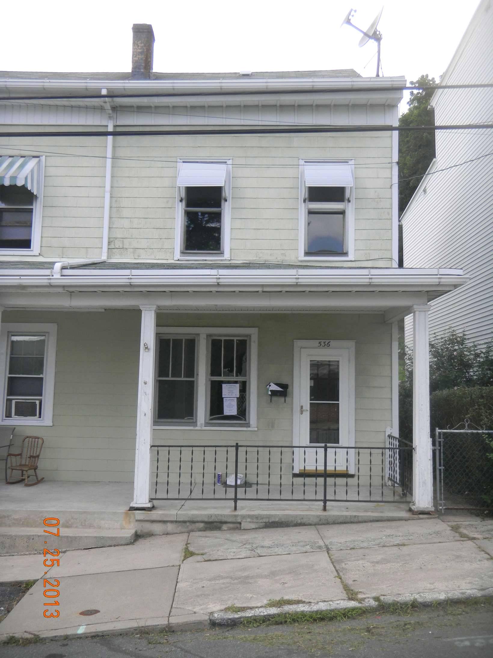 536 E Arch St., Pottsville, PA 17901