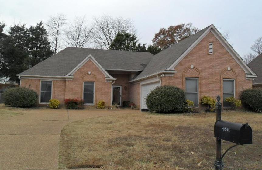 4815 buttermilk cove memphis tn 38125 foreclosed home